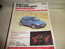 RTA 563 de 1994: OPEL CORSA essence Diesel depuis 93 evolution VW PASSAT 89 à 94