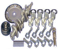 Eagle Sbc  Stroker 350 383 Balanced Rotating Assembly 040 2pc Rear main Seal