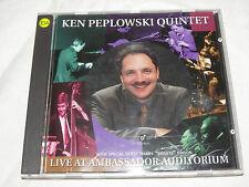 KEN PEPLOWSKI QUINTET LIVE AT AMBASSADOR AUDITORIUM CD HARRY EDISON