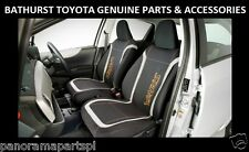 Toyota Yaris Hatch Front Seat Covers Neoprene 3 Door YR YRS ZR GENUINE NEW