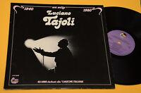 LUCIANO TAJOLI 2LP UN MITO 1940 1980 GATEFOLD COVER EX