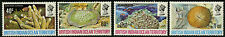British Indian Ocean Tty  1972   Scott # 44-47  MNH Set