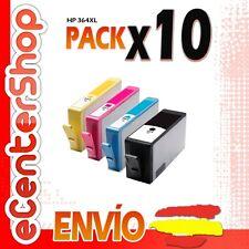 10 Cartuchos de Tinta NON-OEM HP 364XL - Photosmart 5520 e All-in-One