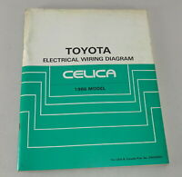 Workshop Manual Toyota Celica Electrical Wiring Diagram Stand 1986 Model