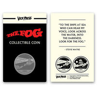 John Carpenter's The Fog Gold Collector Coin Only 125 Exist New!