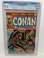 🔥 CONAN THE BARBARIAN #23 CGC 9.2 NM- 1st APPEARANCE OF RED SONJA 1973 BRONZE