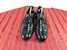 Stanley Blacker Oxford Black Patent Leather Dress Casual Shoes Men Size 11M