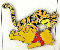 Disney Parks Winnie The Pooh and Tigger Enamel Collectible Trading Pin