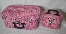 LOLLIPOP borsa + beauty leopardata rosa