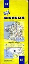 Carte Michelin 63 - Vannes Angers