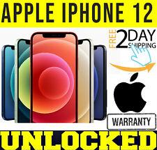 Apple iPhone 12 - 64GB/128GB (Desbloqueado) Garantía De Fábrica ⚫⚪ 🔴 🔵 ✤ Nuevo Sellado ✤