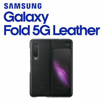 Original Samsung Galaxy Fold 5G LEATHER Cover Case EF-VF907 Free Shipping