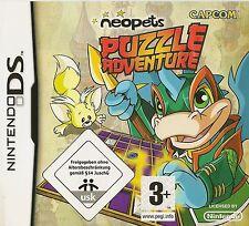 NINTENDO DS NEOPETS PUZZLE ADVENTURE GAME DS, DS LITE, DSI, DSI XL & 3DS