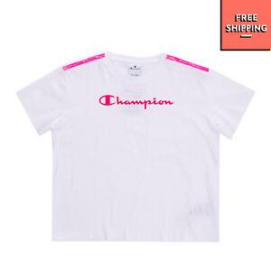 CHAMPION T-Shirt Top Size XL / 13-14Y Reflective Shoulder Strap Coated Logo