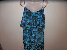 NWT Orig $99 Sanctuary Beautiful Blend of Blues, Fun, Flirty, Dress Size Large