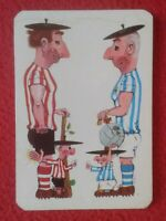CALENDARIO DE BOLSILLO 1975 ATHLETIC BILBAO REAL SOCIEDAD BAR LA POLAR ALFARO...