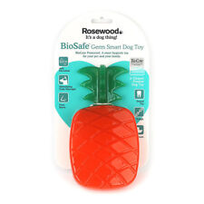 Rosewood BioSafe Germ Smart Pineapple Dog Toy | Anti-Microbial Floating Scented