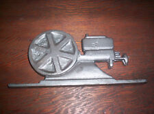 New Hit & Miss Gas Engine Cast Iron Yard Art Sign Great Display Mail Box Topper
