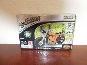 Harley-Davidson Buildex Build-n-Play Real Wood Model in Box