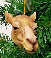 "Camel Head Christmas Ornament 3"" Slavic Treasures"