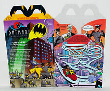 McDonald's Vintage Batman & Robin The Animated Series Gotham City Happy Meal Box