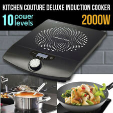 2000W Portable Kitchen Electric Induction Cooktop Stove Hotplate Cooker