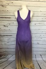 Cynthia Ashby Womens Ombre Maxi Dress Large NEW NWT
