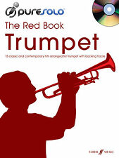 PureSolo The Red Trumpet Pop Instrumental Solo Learn Play FABER Music BOOK & CD