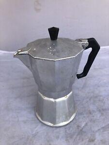Vintage Italian Vigano VEV Stovetop Coffee Percolator