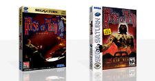 The House Of Dead Sega Saturn Ersatz Schutzhülle + Karton Kunst Arbeit Kein