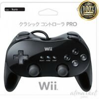 Nintendo Controller PRO Classic Black Nintendo Wii Game genuine from JAPAN NEW