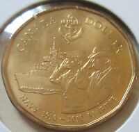 2010 Canada Navy Loonie One Dollar Coin. (MINT CELLO UNC.)