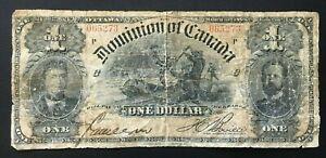 Dominion of Canada, 1898, $1, P24Ab (sign Boville), Fair