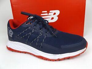 New Balance NBG4005NR Fresh Foam Pace SL Golf Shoes Men's Size 12.0 M, Navy/Red