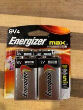 Energizer MAX 9V Battery 4 Pack