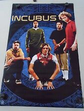 """Incubus - Orig. poster #9074 / Group """"2002"""" / Exc.+ New cond. 22x34"""""""