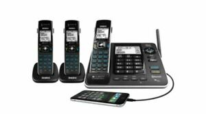 Uniden XDECT 8355+2 Triple Handset Digital Cordless Bluetooth Power Backup