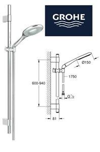 Grohe Rainshower ICON 150 Shower Rail Set 2 Sprays 27277001 rrp £311.59 GS