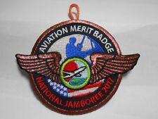 2017 NATIONAL JAMBOREE AVIATION MERIT BADGE BRONZE BORDER
