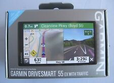 "Garmin DriveSmart 55 ex with Traffic GPS Navigator with a 5.5"" Display"