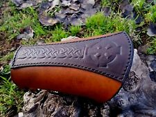 ARCHERY BRACER / ARM GUARD  CELTIC/NORDIC CROSS HANDMADE- NEW!!!