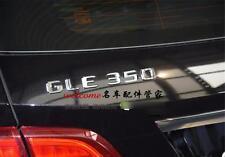 E666 GLE350 E350 Emblem Badge auto aufkleber 3D Schriftzug Plakette car Sticker