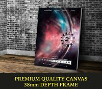 Interstellar Classic Movie Art Large CANVAS Print Gift A0 A1 A2 A3 A4