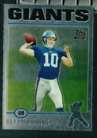 2~~ELI MANNING FOOTBALL CARDS~Includes HIS ~ROOKIE~ ~REPRINT??~ CARD!!