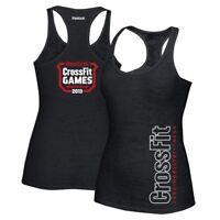 Reebok CrossFit Games 2013 Logo Women's Black Burnout Tank Top