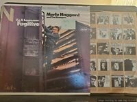 Merle Haggard - I'm a Lonesome Fugitive - Capitol ST-2702 VG+/VG+
