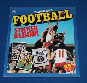 1981 Scanlens VFL Football Sticker Album - Unused (excellent condition)