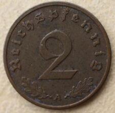 # 2 Reichspfennig 1938 A  - mennica Berlin .. .od  4,99 zl #