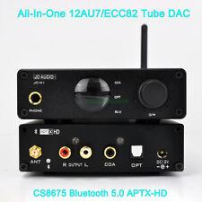 2019 HIFI 12AU7 ECC82 Tube DAC Bluetooth 5.0 APTX-HD Player Headphone Amplifier
