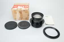 Konica Hexanon GRII 300mm F/9 F9 Lens for Large Format Film Camera, Black